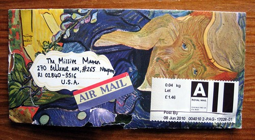 Van Gogh air mail plus rip part 2