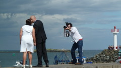 Photograph the Photographer (FM Foto) Tags: wedding howth lumix interesting photographer panasonic tz10 zs7