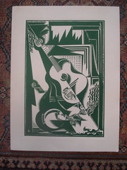 "Block Print, Jean Negulesco • <a style=""font-size:0.8em;"" href=""http://www.flickr.com/photos/51721355@N02/4913680538/"" target=""_blank"">View on Flickr</a>"