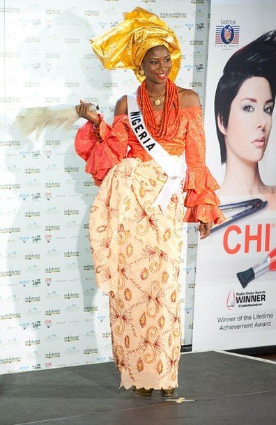 National Costume of Miss Nigeria