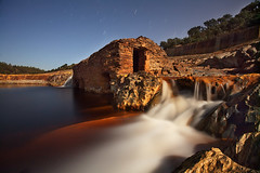 Molino I (RioTinto Huelva) Gadea (Explore Aug 22, 2010 #270 ) (martin zalba) Tags: rio night stars star noche huelva estrellas nocturna estrella nocturno tinto
