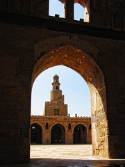 The Spiral Minaret - Masjid Ahmed Ibn Tulun     / Cairo / Egypt - 28 05 2010 (Ahmed Al.Badawy) Tags: architecture shots minaret 05 egypt cairo 28 ahmed masjid islamic 2010 ibn the    tulun tulunids  albadawy hutect