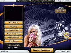 Grand Vegas Casino Lobby