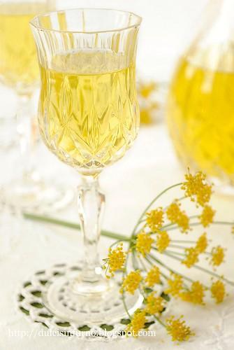 Liquore al Finocchietto Selvatico-Fennel Liqueur