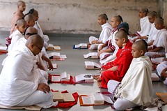 Veda Class (Shrimaitreya) Tags: school india student indian maharashtra hindu hinduism veda sacrifice shri brahmin vedic brahman agni chatra shastra brahmanism vedashala vidyarthi vaidika gupr