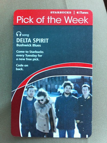 Starbucks iTunes Pick of the Week - Delta Spirit - Bushwick Blues