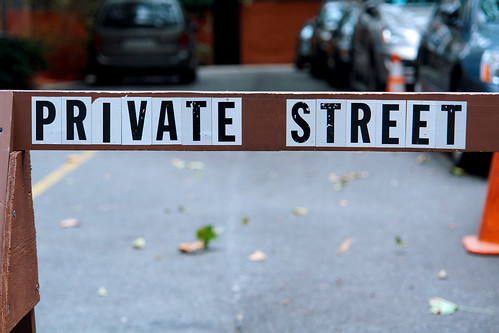 private street, new york city