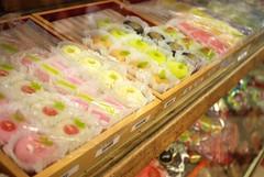 Fugetsu-Do (Artemis Arthur) Tags: red food white dessert photography japanese photo losangeles nikon bean foodporn mochi foodie d80 fugetsudo
