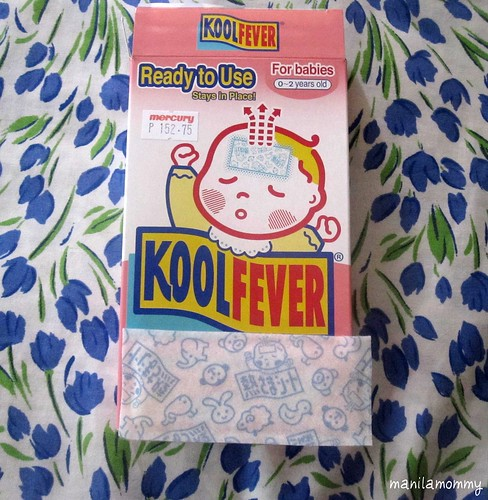 koolfever infant fever patch