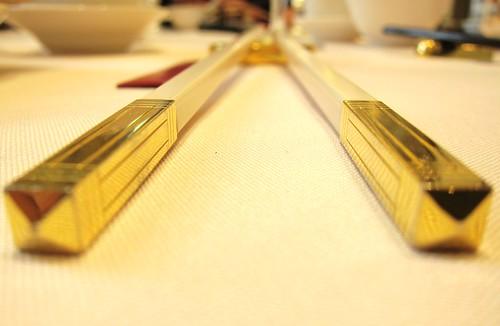 Lei Garden Restaurant chopsticks