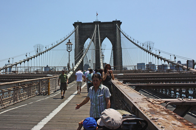 Brooklyn Bridge, by MacDara on Flickr.