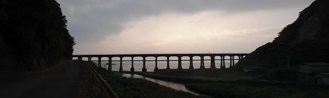 Sougou river bridge : JR Sanin line