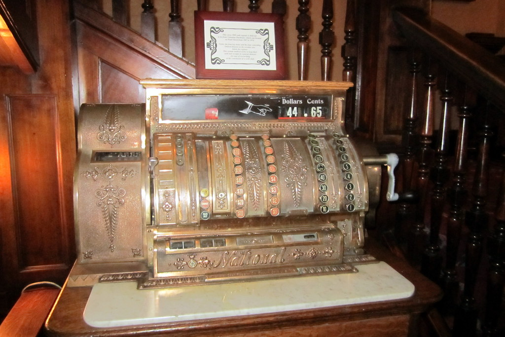 Colorado - Boulder: Hotel Boulderado - cash register