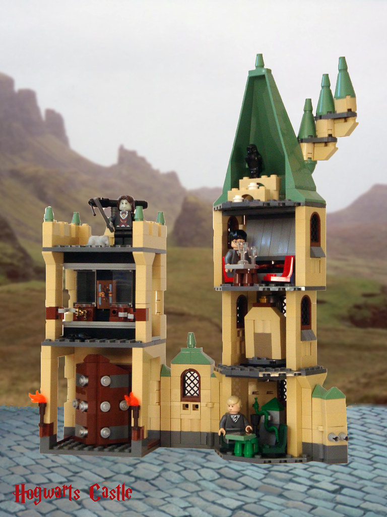 Review Lego Harry Potter 4842 Sveltewarts Hogwarts Lego