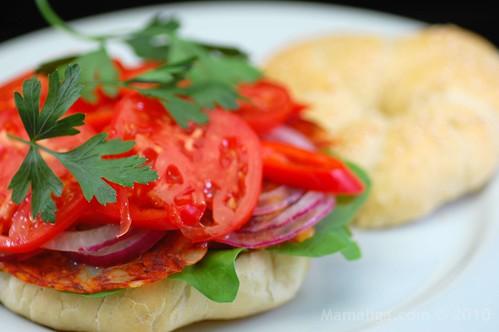 Kaiser Roll Sandwich