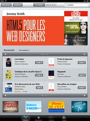 Sacrebleu! The French edition of the ebook of HTML5 For Web Designers is in the top 5 sellers on iTunes (Jeffrey) Tags: life history french itunes translation aba ebook biography mylife zeldman jeffreyzeldman jeremykeith outofthepast enfrancais mylifeinpictures epub html5 abookapart html5forwebdesigners booksalistapartcom