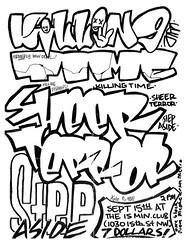 Killing Time, Sheer Terror punk hardcore flyer (The Change Zine) Tags: newyork rock metal poster ian dc washington flyer punk mosh hardcore 80s scream punkrock judge straightedge thrash eighties cbgbs nineties beastieboys 90s deadkennedys kraut abused underdog handbill badbrains germs blackflag fugazi dischord sxe quicksand minorthreat murphyslaw huskerdu circlejerks cromags agnosticfront swiz youthoftoday nyhc bloodclot sheerterror governmentissue 7seconds newyorkhardcore dischordrecords gorillabiscuits causeforalarm handbil yothoftoday johnjosepg