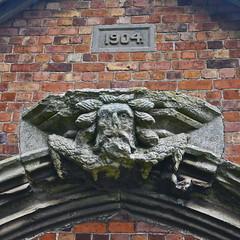 Woodwose (petelovespurple) Tags: church nikon lincolnshire gargoyle organ louth greenman wildman d90 roodloft woodwose belleau