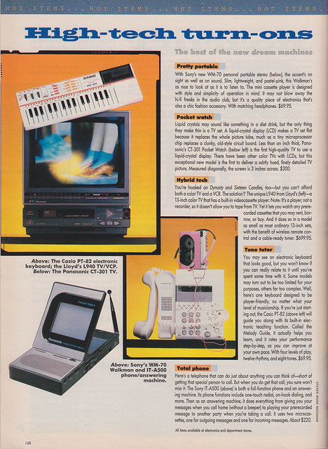 High Tech Turn Ons by Seventeen Magazine May 1986 from Flickr