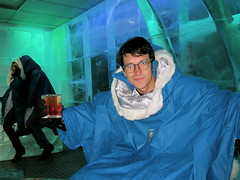 We Actually Went To The Ice Bar (Claire L. Evans) Tags: jeff copenhagen icebar jeffbrodsky