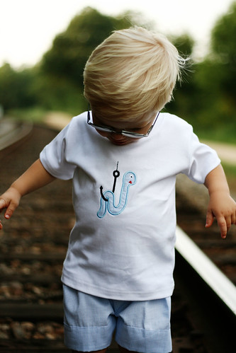 Worm on a Hook Tee & Shorts Set