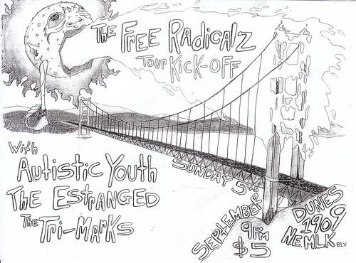 free radicalz tour kickoff!