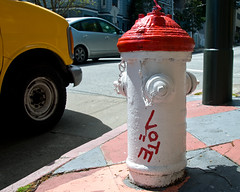 SF Fire Hydrant Vote for Equality