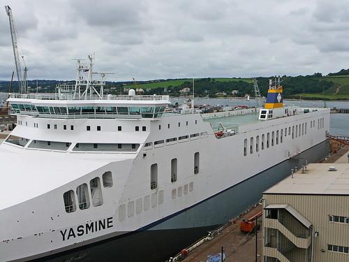 docks cornwall falmouth yasmine