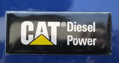 Caterpillar Diesel Power (MR38.) Tags: emblem logo diesel vehicle brand catrpillar