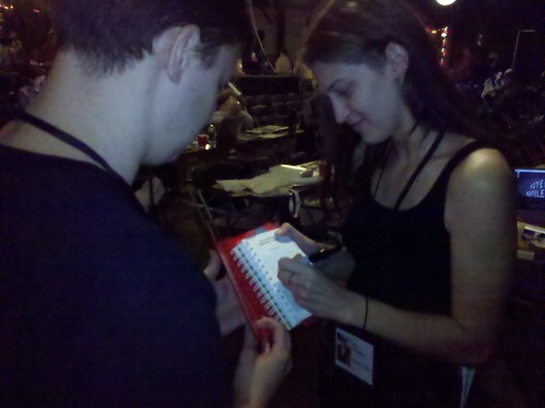 Scoring Mac's autograph