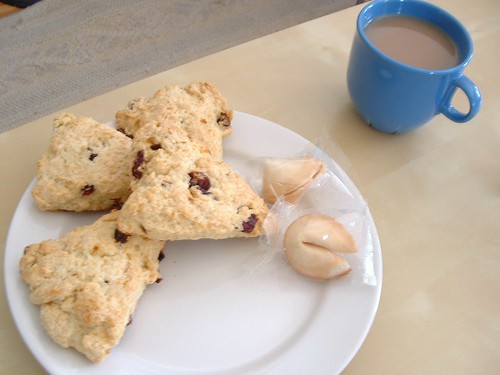 Orange Craisin Scones (2)