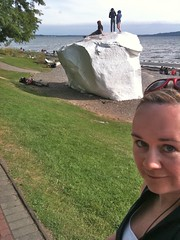 Me with the eponymous white rock