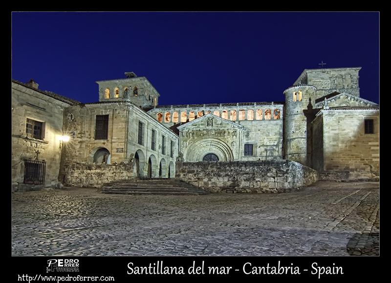 Santillana del Mar - Colegiata de Santa Juliana - Cantabria - Spain