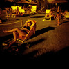 Sunkissed (ale2000) Tags: summer people woman sun 6x6 pool field sunglasses analog mediumformat square geotagged donna holga estate gente candid sunny piscina swimmingpool photowalk sole vignetting kissed prato xr occhiali renai summerending lastraasigna redscale assolato baciatadalsole aledigangicom geo:lat=43782295 geo:lon=1110244 lomographyredscalexr