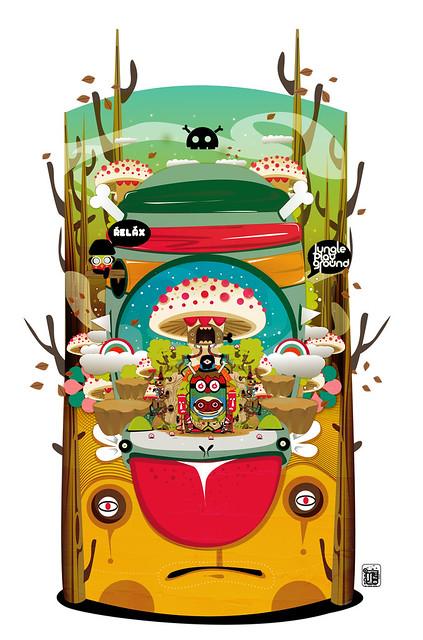 Jungle playground_