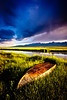 After The Rain...A Boat (Dan Ballard Photography) Tags: ranch travel favorite mountain lake storm mountains water grass sunrise river photography boat fishing colorado gallery photographer outdoor best portfolio westcliffe wetmoutainvalley danballardphotography