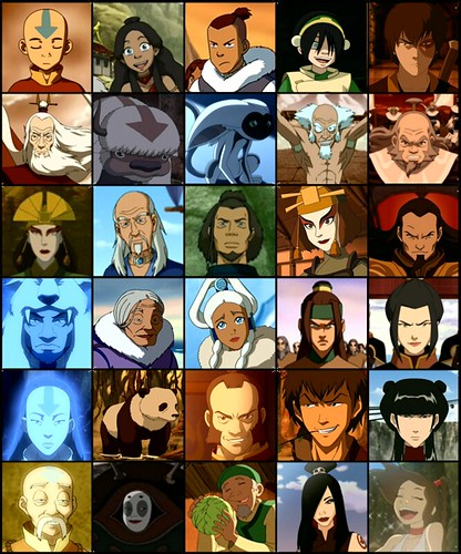 Avatar the last airbender characters family