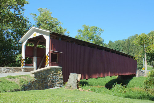 White Rock Forge Covered Bridge (Exterior Long View) hdr 01