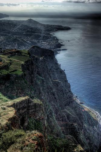 Girao Cape viewpoint. Madeira. Mirador de Cabo Girao