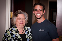 The Hostess and her Grandson