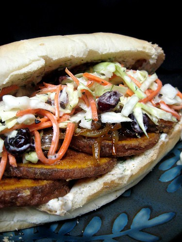Sweet Potato Po' Boy...