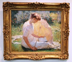 """The Reader - A Summer Idyll"" - Fran..."
