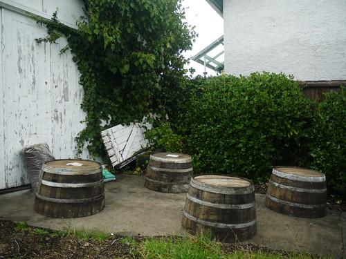 Wine Barrels in the 'Mediterranean Zone'