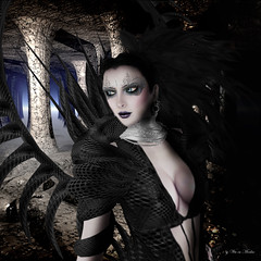 "Angel Dessous - ""Antares"" (Wicca Merlin) Tags: new fashion hair blog model photographer lashes dress skin modeling witch magic style blogger sl secondlife gown collar hautecouture magical eveninggown couture spikes mystic avantgarde advertise newrelease redgrave mytical slfashion elegnat slclothing sissypessoa baiastice latestrelease barneyroundel wiccamerlin razoregalia highfashiion feamleclothing"