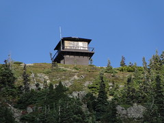 Tolmie Lookout zoom from Eunice Lake