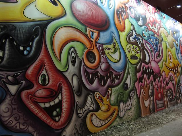 Kenny Scharf Mural
