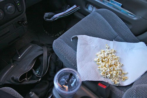 popcorn for my drive home