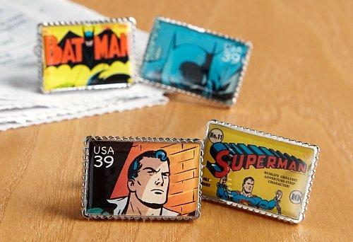 Superhero Cuff Links