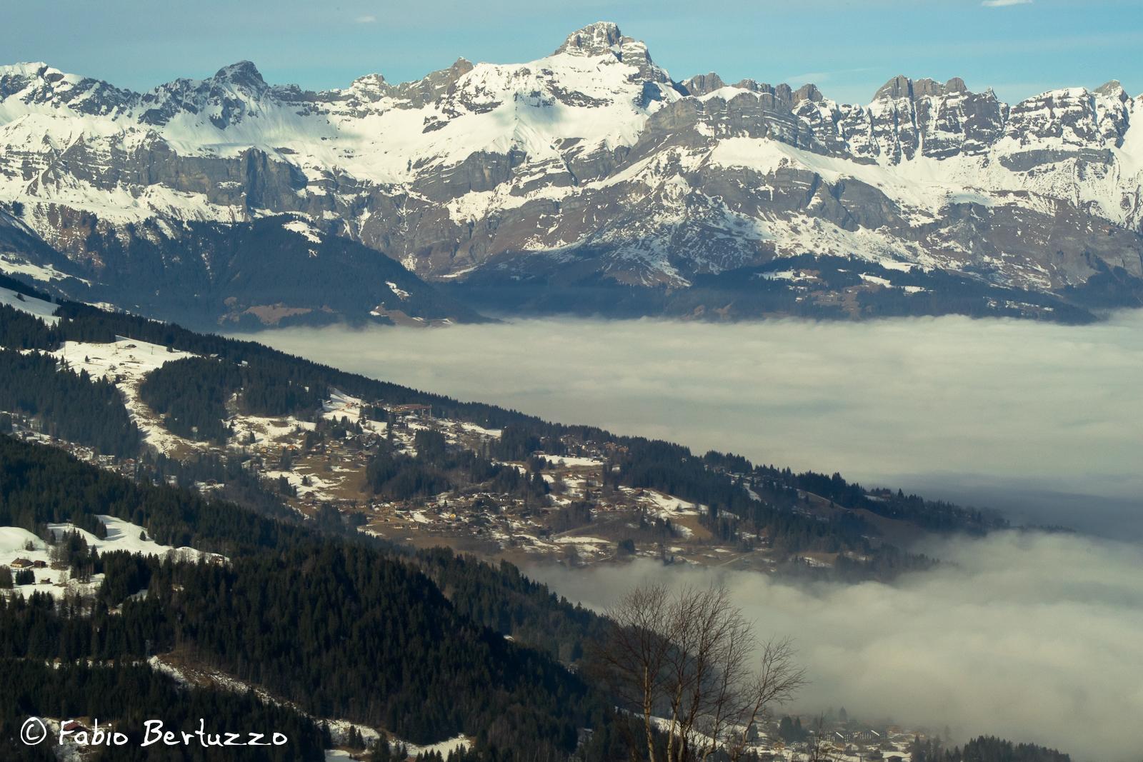 Visuale dal Mont Truc