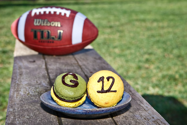 Green Bay Packers Macarons